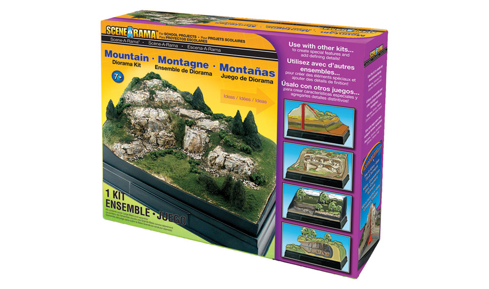 Mountain Diorama Kit