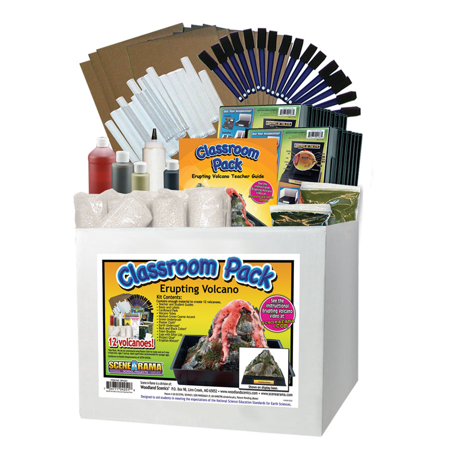 Erupting Volcano Classroom Pack<sup>™</sup>