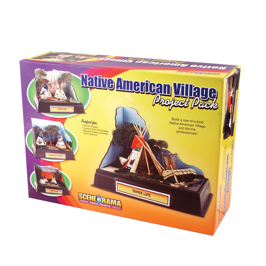 Native American Village Project Pack<sup>™</sup>