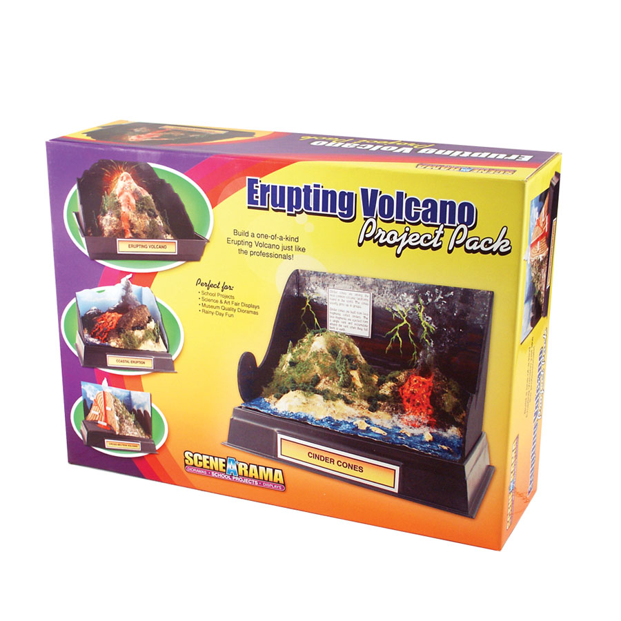 Erupting Volcano Project Pack<sup>™</sup>