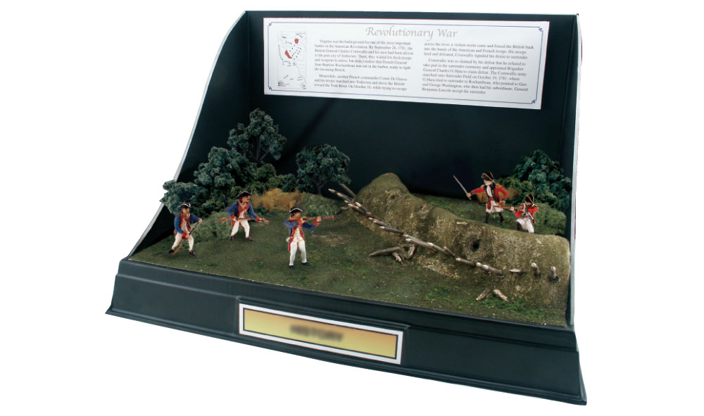 Revolutionary War Soldiers Scene Setters<sup>®</sup>